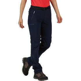 Regatta Xert III Stretch Pantalones Zip-Off Mujer, navy